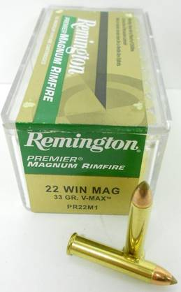 22 WMR REMINGTON 2,1g V-MAX 50kpl - 22 WMR - 047700008400 - 1
