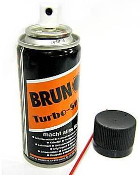 BRUNOX Turbo Spray 120ml - Aseöljyt - 7610567961220 - 1