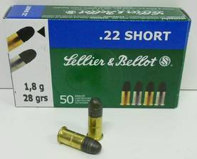 22 Short Sellier & Bellot 50kpl - 22 short - 8590690355501 - 1