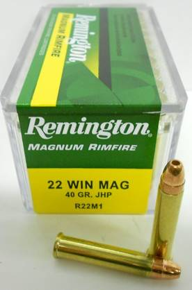 22 WMR REMINGTON 2,6g JHP 50kpl - 22 WMR - 047700008301 - 1