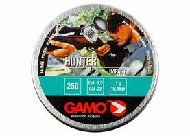5,5mm Gamo Hunter 250kpl - 5,5mm - 793676004181 - 1