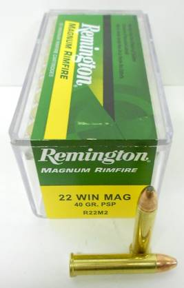 22 WMR REMINGTON 2,6g PSP 50kpl - 22 WMR - 047700008202 - 1