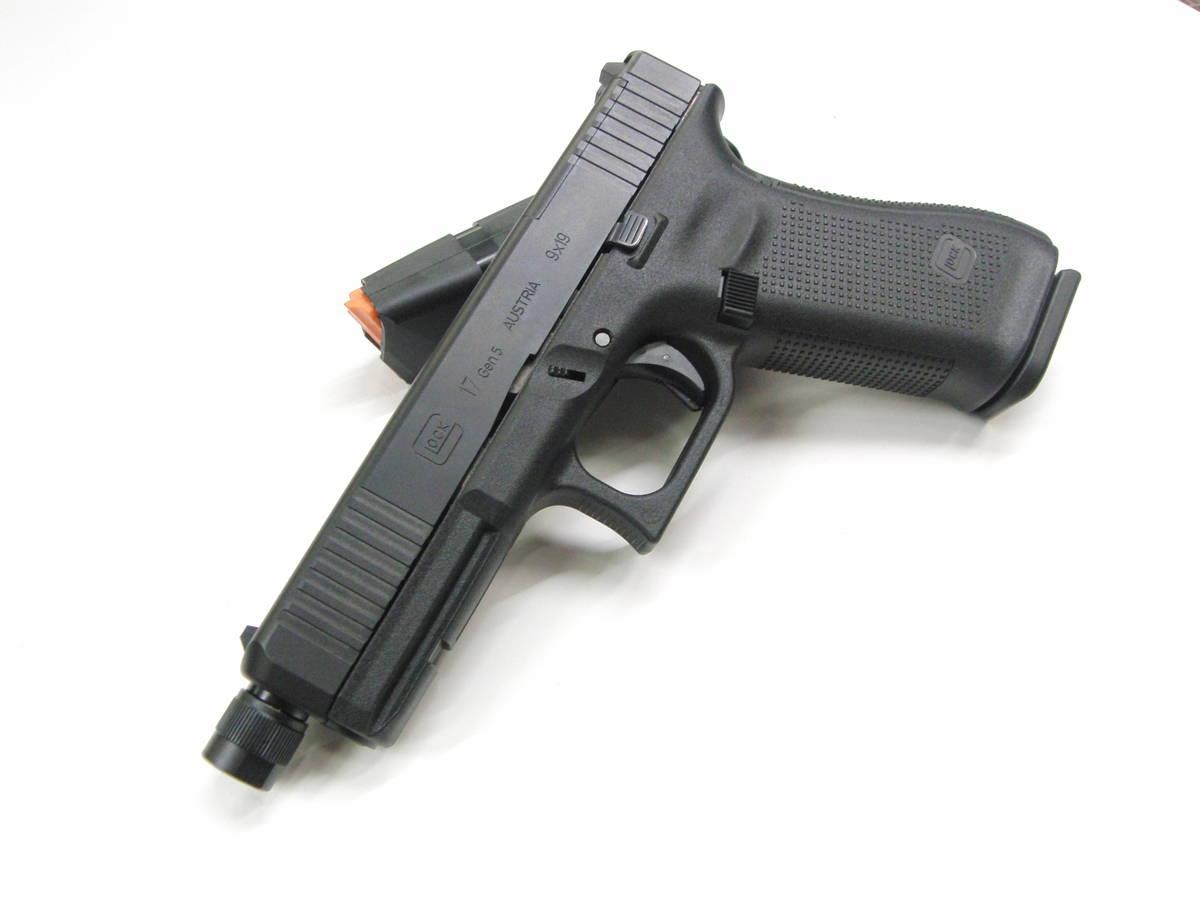 Glock 17 GEN 5 MOS FS PRO 9x19mm Pistooli