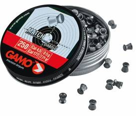 4,5mm Gamo Match Diabolo 0,49g 250kpl - 4,5mm - 793676000145 - 1