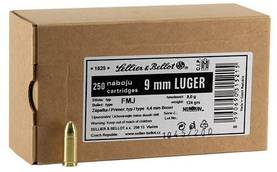 9mm Luger Sellier & Bellot 8,0g FMJ Bulk - 9mm - 8590690315215 - 1