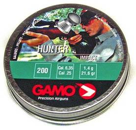 6,35mm Gamo Hunter 200kpl - 6,35mm - 793676003696 - 1