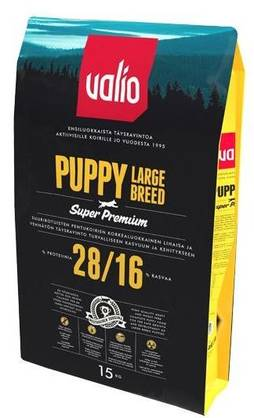 Valio Puppy 28/16 Large Breed 15kg - Kuivaruoat - 4801valiopuppy2816 - 2