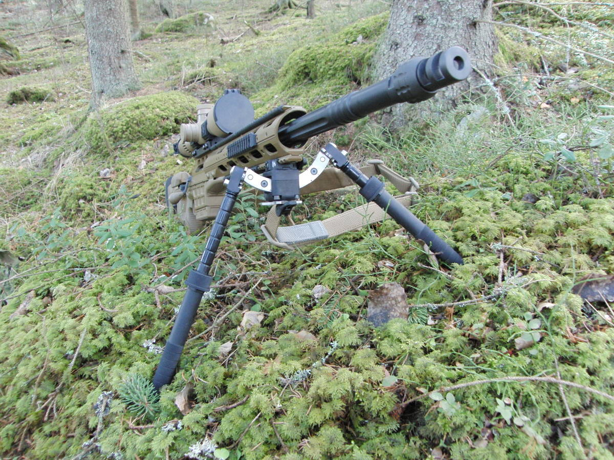 BT35-LW17 5-H Atlas Bipod - Bipodit - BT35-LW17 - 5