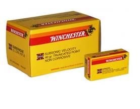 22 lr Winchester Super x Subsonic Solid 40gr - Subsonic - 9322022000167 - 1