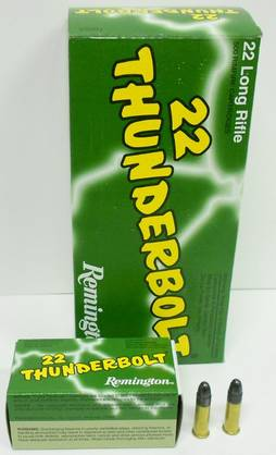 22lr REMINGTON Thunderbolt - High velocity - 047700002507 - 1