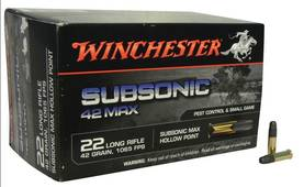 22lr WINCHESTER Subsonic 2,7g/42gr MAX -  - 020892103337