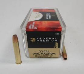 22 WMR Federal 1,94g Speer TNT 50kpl - 22 WMR - 029465056988 - 1