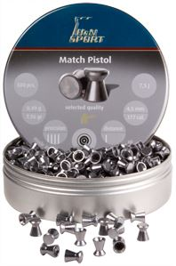 4,5mm H&N Match Pistol 0,49g 500kpl - 4,5mm - 4047058001128 - 1