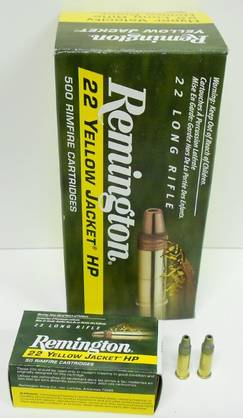 22lr REMINGTON Yellow Jacket HP - High velocity - 047700000909 - 1