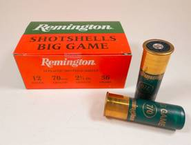 12/70 Remington Big Game 7/0 6,2mm - 12/70 metsästyspatruunat - 20204remBG - 1